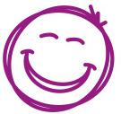 face-purple-symbol