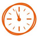 clock-orange-symbol